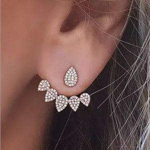 ✨NEW! Diamond Hanging Earrings Studs Cute Fashion